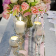 Table set for wedding reception — Stock Photo #48500911
