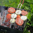 Grilling vegetables — Stock Photo #48500989