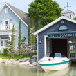 Stock Photo: Boatshed