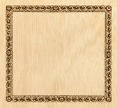 Marco de madera — Foto de Stock