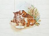 装饰瓷砖 — 图库照片