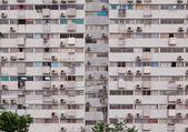 Gamla lägenheter — Stockfoto
