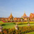 Stock Photo: Thai royal funeral and Temple