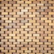 Wicker wood pattern — Stock Photo