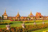 Thai royal cenaze ve tapınak — Stok fotoğraf