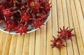 Roselle фрукты — Стоковое фото