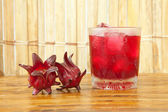 Roselle juice — Stock Photo
