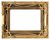 Love gold frame — Stock Photo