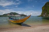 Barcos no mar — Foto Stock