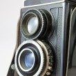 Old camera isolated — Stock Photo #12435122