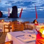 Dinner on sunset — Stock Photo #12438420