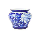 Chinese antique vase — Stock Photo
