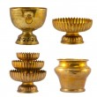 Old antique vintage gold collection — Stock Photo #12444129
