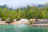 Waterfall in Deep forest ,Thailand — Stock Photo