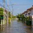 House flood in Thailand — Stock Photo #12484854