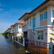 Stock Photo: House flood in Thailand