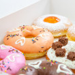 Donuts set — Stock Photo
