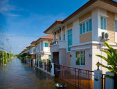 House flood in Thailand — Stock Photo