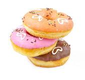 Heart donuts — Stock Photo