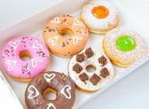 Donuts set — Stock Photo