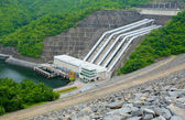Hydro Power Electric Dam — Stock Photo