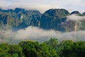 Góry laos — Zdjęcie stockowe