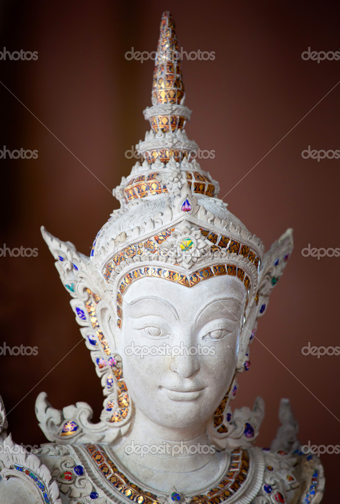Thai style angel statue in Erawan museum,Thailand — Stock Photo #12518006
