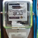 Electric meter — Stock Photo