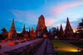 Wat chaiwattanaram — Zdjęcie stockowe