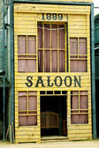 Saloon in Wild West style — Stock Photo