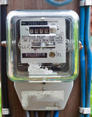 Electric meter — Stockfoto