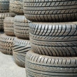 图库照片: Pattern of tyre