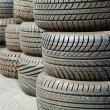 Foto Stock: Pattern of tyre