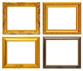 Gold frame Collection — Stock Photo