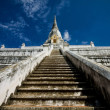Steps in Wat — Stock Photo