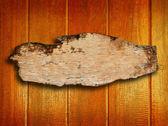 Leer aus Holz — Stockfoto