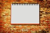 Cuaderno de notas — Foto de Stock