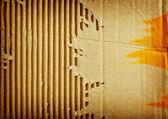Corrugated cardboard — Stockfoto