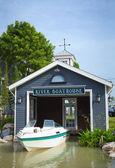 Boatshed — Foto Stock