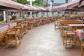 Outdoor restaurant — Foto Stock