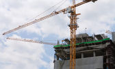 Industrial construction — Stock Photo