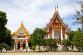 Wat Bangor in Thailand — Stock Photo