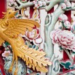 China Carving — Stock Photo