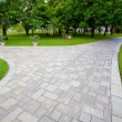 Path through landscaped park — Stock Photo #13603006