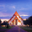 Wat in Ayutthaya, Thailand - Stock Photo