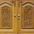 Wooden carved doors — Photo