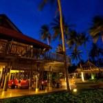 Resort at night — Stock Photo #13625665