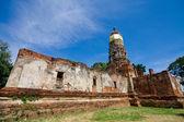 Ayutthay Historical Park in Thailand — Foto de Stock