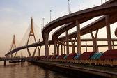 在泰国普密蓬桥 — 图库照片