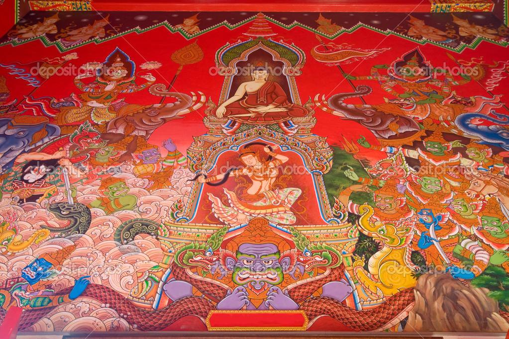 泰国风景古佛壁纸